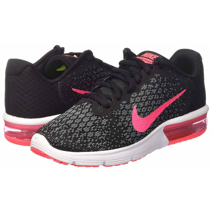 NIKE Womens Air Max Sequent 2 FitSole Breathable Running Shoes shoes Nike airforece airmax authentic basketball black 8.83E+11