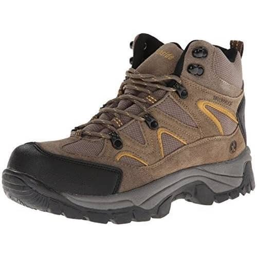 Northside Mens Snohomish Hiking Boot Shoes 50-75 color-tan-dark-honey hiking mens mens-boots