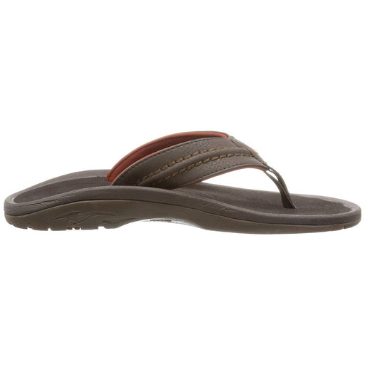 OluKai Mens Hokua Sandal Shoes 50-75 color-dark-java-dark-java color-onyx color-tan-tan color-trench-blue-black