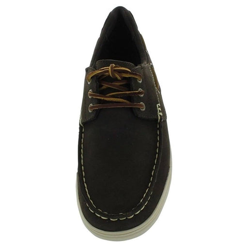 Polo Ralph Lauren Mens Carrick Shoes 75-100 color-brown-nubuck size-11-5-dm-us