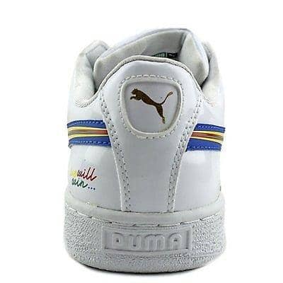 PUMA Mens Basket X Dee & Ricky BW Shoes 100-150 color-white puma size-11-dm-us Sneaker