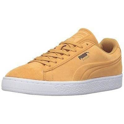 PUMA Mens Suede Classic Debossed Q3 Fashion Sneaker Shoes color-barbados-cherry color-mazarine-blue color-puma-black puma size-4-5-dm-us