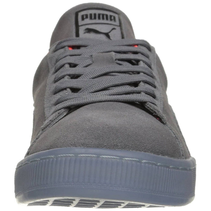 PUMA Mens Suede Classic Fade Future Sneaker Shoes 75-100 color-puma-black color-puma-royal color-steel-gray puma