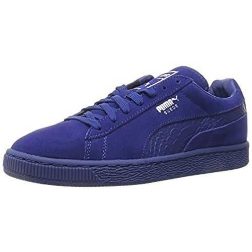 PUMA Men's Suede Classic Mono Reptile Fashion Sneaker Sneakers Men 889183554261