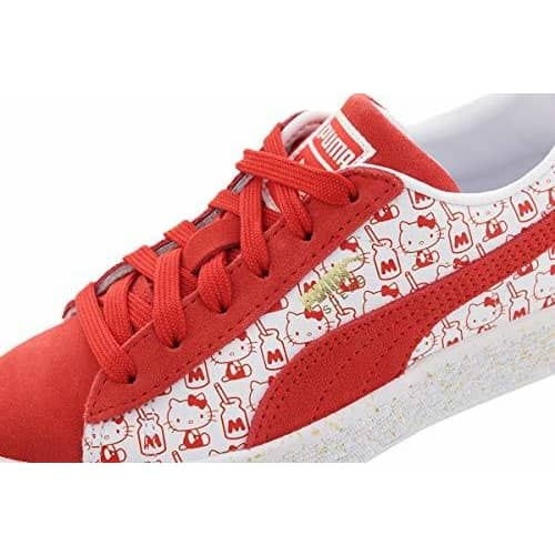 PUMA Suede Classic x Hello Kitty (Preschool) Kids Shoes 191241051811