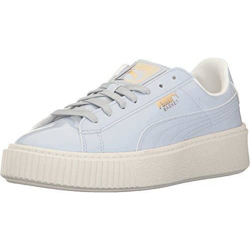PUMA Women's Basket Platform Patent Field Hockey Shoe Sneakers Women 190274750234