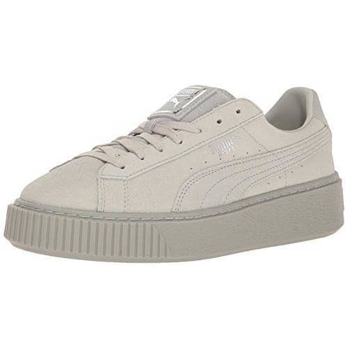 PUMA Women's Basket Platform Reset Fashion Sneaker Sneakers Women 190274691742