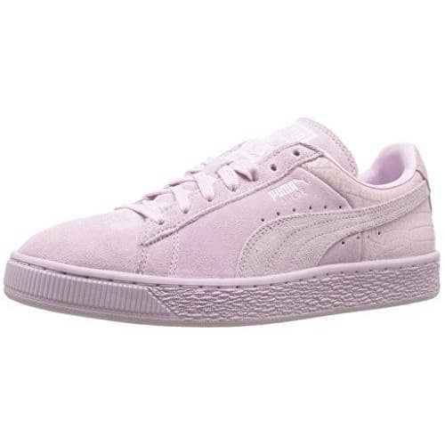 PUMA Women's Suede Classic Emboss Fashion Sneaker Sneakers Women 889181852901