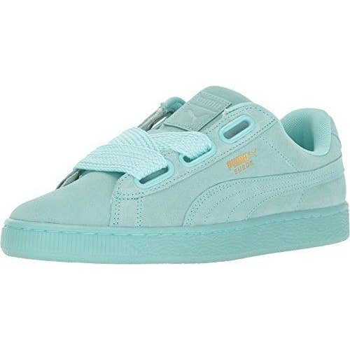 PUMA Women's Suede Heart Satin Fashion Sneaker Sneakers Women 190274742840
