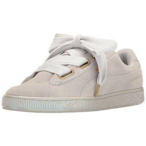PUMA Women's Suede Heart Satin Fashion Sneaker Sneakers Women 190274746091