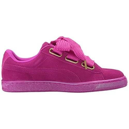 PUMA Women's Suede Heart Satin Fashion Sneaker Sneakers Women 190274747081
