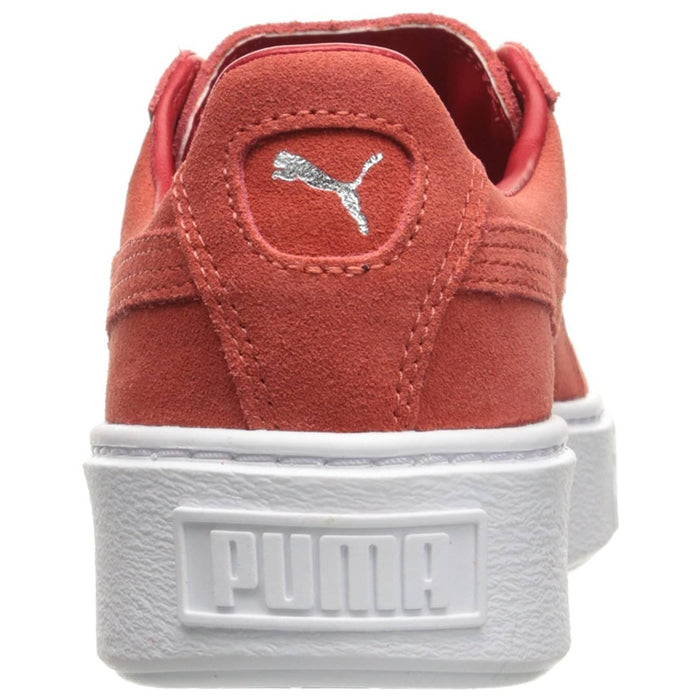 PUMA Womens Suede Platform Sneaker shoes 100-150 color-puma-black-black-puma-white puma size-10 size-6-5