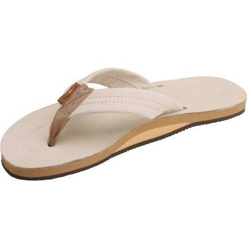 Rainbow Sandals Womens Single Layer Premier Leather with Arch Support shoes color-sierra-brown size-5-5-6-5-women size-6-5-7-5-women