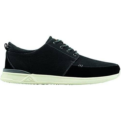 Reef Mens Rover Low Fashion Sneaker Shoes color-black reef size-8-men sneakers 8.85E+11
