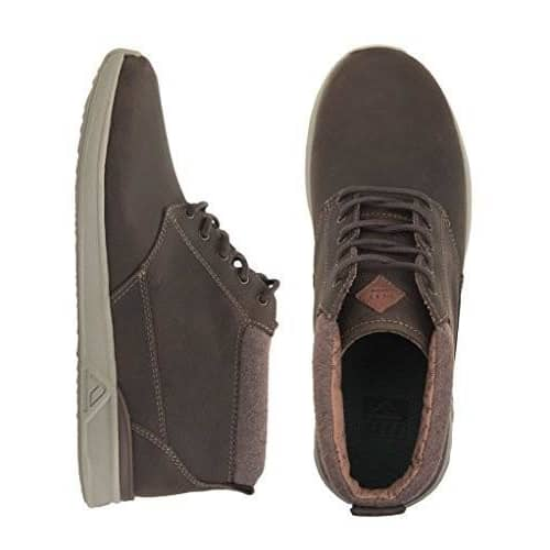 Reef Mens Rover Mid Fgl Fashion Sneaker Shoes 100-150 color-bronze-brown reef size-12-men size-9-men 7.32E+11