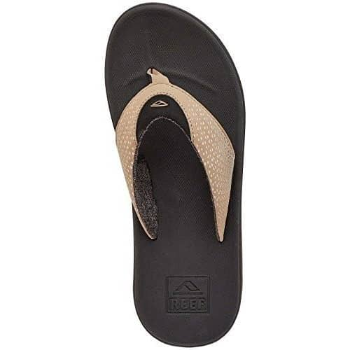 Reef Mens Sandals Rover Shoes color-black-tan reef Sandal size-15-men Slipper 7.06E+11