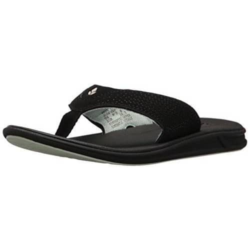 Reef Womens Rover Sandal shoes color-black-mint color-brown-coral reef size-10-women 1.91E+11
