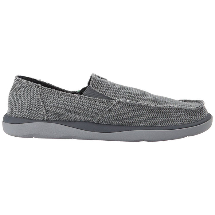 Sanuk Mens Vagabond Tripper Slip-on Loafer Shoes color-brown color-charcoal color-natural sanuk size-13-dm-us 1.90E+11