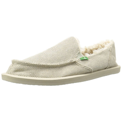 Sanuk Womens Donna Hemp Chill Slipper shoes color-black color-natural sanuk size-10-women size-11-women 1.90E+11