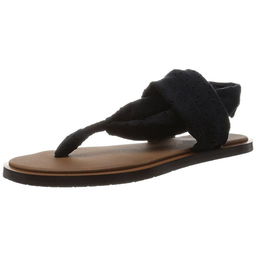 Sanuk Womens Yoga Devine Sandal Footwear shoes color-black color-dusty-boysenberry color-light-khaki sandals
