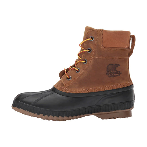SOREL Mens Cheyanne II Lace Duck Boot Shoes 150-250 boots Brown Chipmunk 1.91E+11