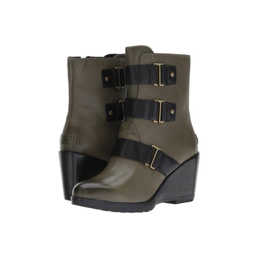SOREL Womens After Hours Leather Bootie shoes 150-250 after hours Booties boots color-nori