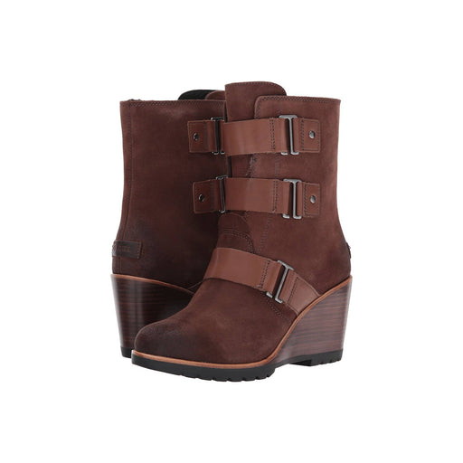 SOREL Womens After Hours Suede Bootie shoes 150-250 after hours Booties boots color-tobacco