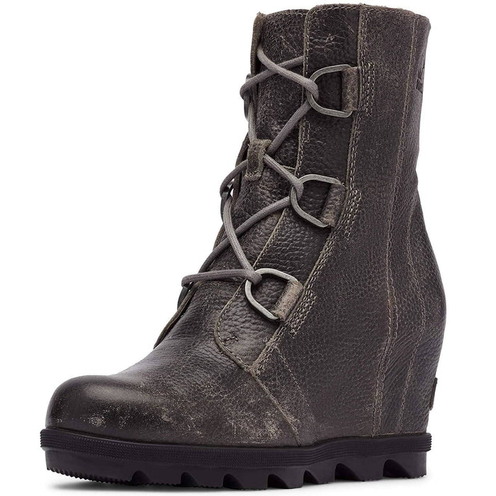 Sorel Womens Joan of Arctic Wedge II Boot shoes SOREL 2019 Alpine Tundra black boot brown 1.93E+11