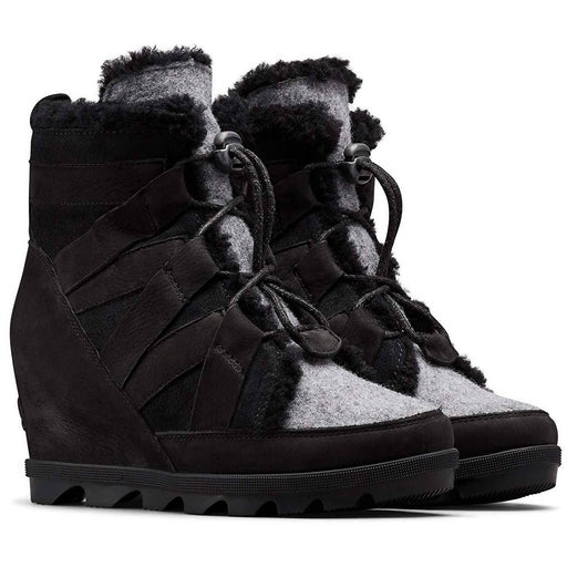 Sorel Womens Joan of Arctic Wedge II Cozy Boot shoes SOREL 2019 black boot brown camel 1.93E+11
