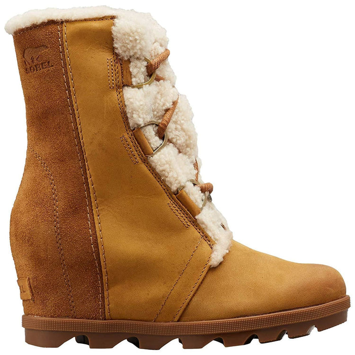 Sorel Womens Joan of Arctic Wedge II Shearling Boot shoes SOREL 2019 black boot brown camel 1.93E+11