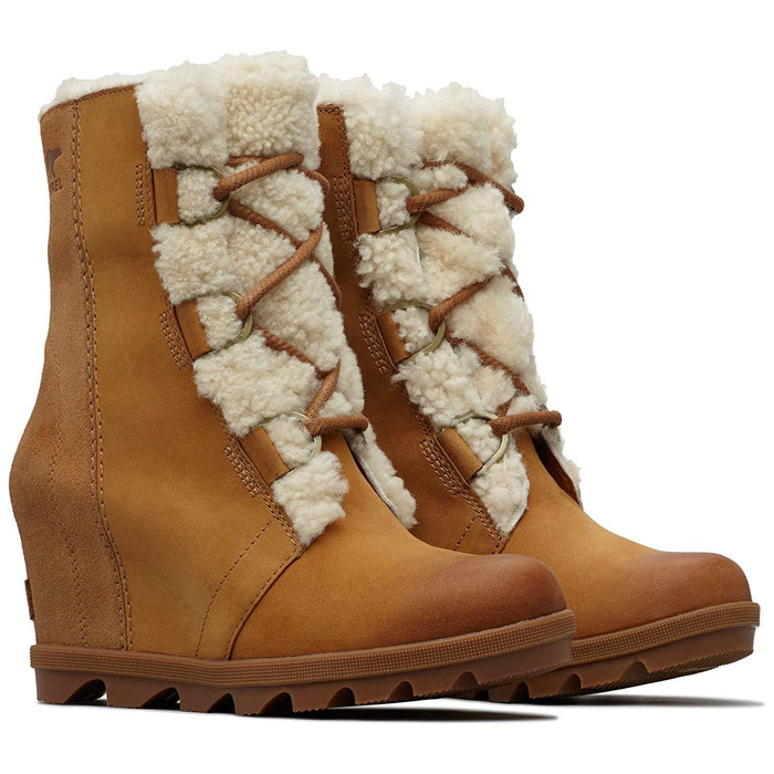 Sorel Womens Joan of Arctic Wedge II Shearling Boot shoes SOREL 2019 black boot brown camel 1.91E+11
