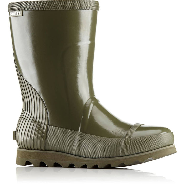 SOREL Womens Joan Rain Short Gloss Boot shoes 100-150 color-nori-zest size-10 size-11 size-12 1.91E+11