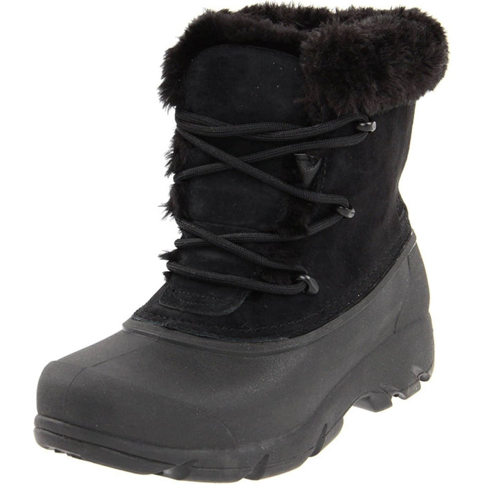 SOREL Womens Snow Angel Lace Boot shoes 100-150 color-black color-rootbeer size-5 sorel