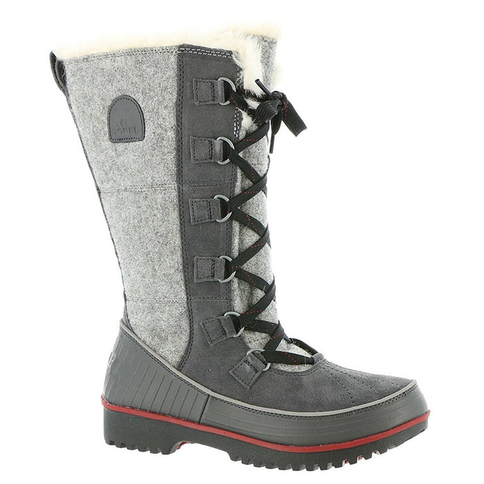 SOREL Womens Tivoli High II Boot shoes 150-250 color-dark-grey-red-dahlia size-5 sorel womens