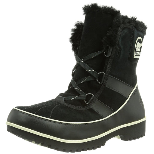 SOREL Womens Tivoli II Suede Boot shoes 100-150 color-black-noir size-5 size-6 sorel