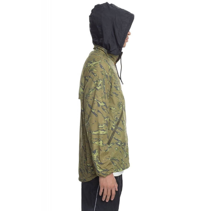 The UACTP TG Running Shell in Camo Mens Jacket Stussy