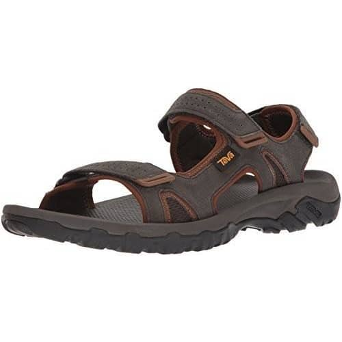 Teva Mens M Katavi 2 Sport Sandal Shoes color-black-olive color-walnut size-10-men size-11-men 1.91E+11
