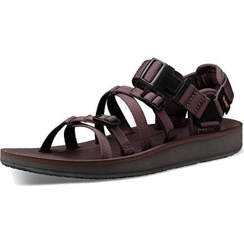 Teva Womens ALP Premier shoes 75-100 color-black color-plum-truffle Sandal size-10-women 1.90E+11