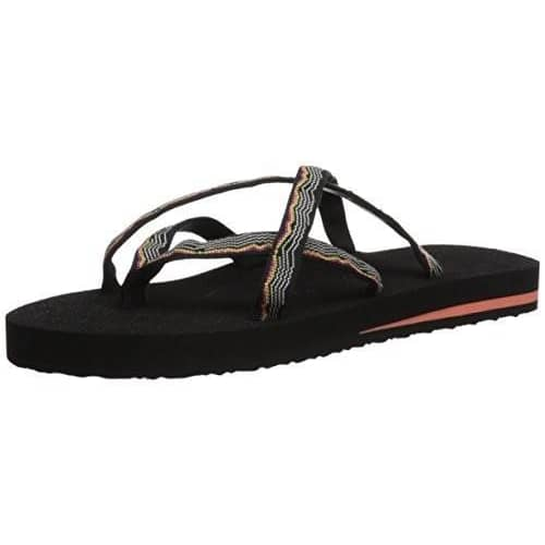 Teva Womens Olowahu Flip-Flop shoes color-himalaya-black color-himalaya-lapis-blue color-himalaya-port color-lindi-blue