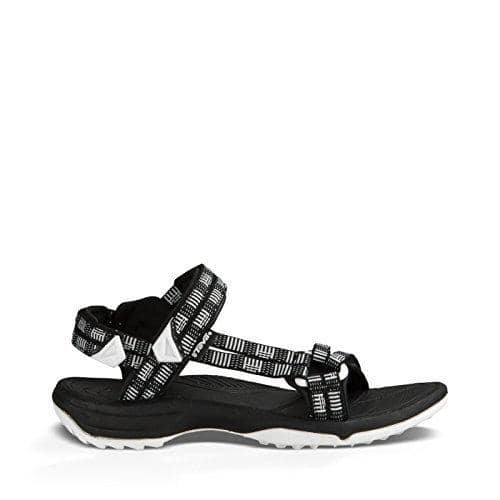 Teva Womens W Terra Fi Lite Sandal shoes 75-100 color-atitlan-black-white sandals size-10-women