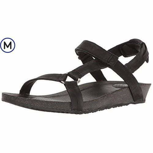 Teva Womens W Ysidro Universal Sandal shoes 75-100 color-black color-taupe sandals 1.90E+11