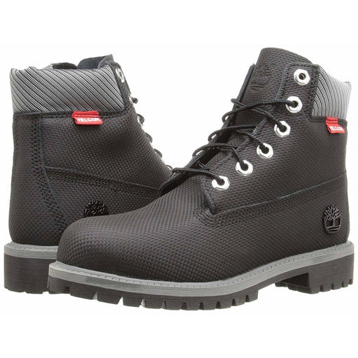 Timberland 6 Premium Waterproof Boot Core (Big Kid) Kids shoes airforece airmax authentic basketball black 8.90E+11