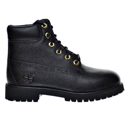 Timberland Junior Horween 6 Premium Football Leather Boot Kids shoes 150-250 color-black color-brown size-4 size-4-5