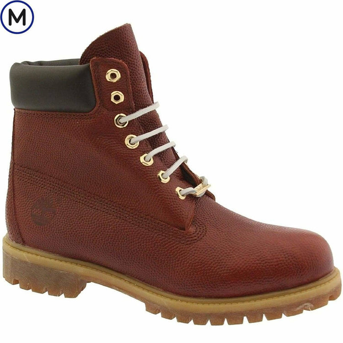 Timberland Mens Horween 6 Premium Football Leather Boot Shoes color-black color-brown over-250 size-10 889585277768