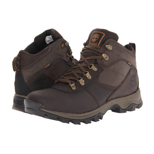 Timberland Mens Mt. Maddsen Mid Hiking Boots Shoes 100-150 Black Boot boots Brown 8.87E+11