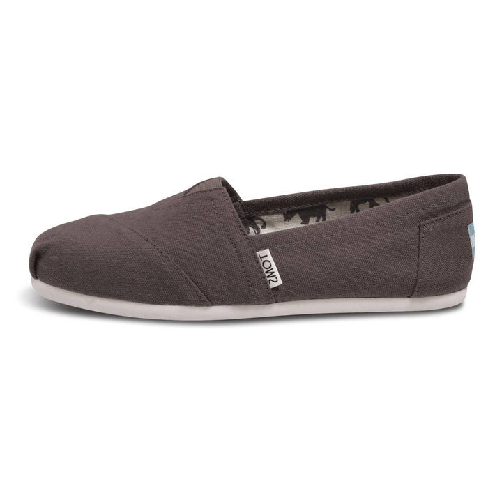 TOMS Mens Classic Canvas Slip-On Shoes color-ash-grey color-black color-navy color-red size-10-5-men 8.10E+11