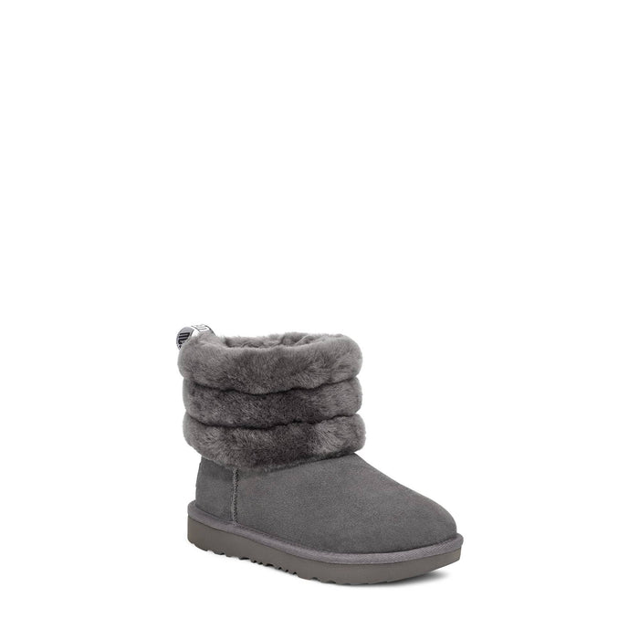 UGG Big Kids Fluff Mini Quilted Classic Boot shoes Ugg 192410399642