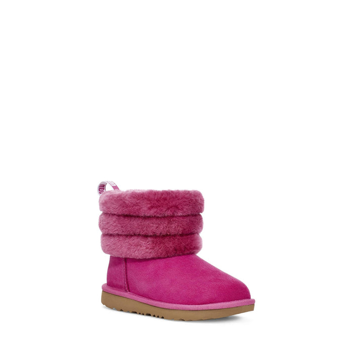 UGG Big Kids Fluff Mini Quilted Classic Boot shoes Ugg 192410399543