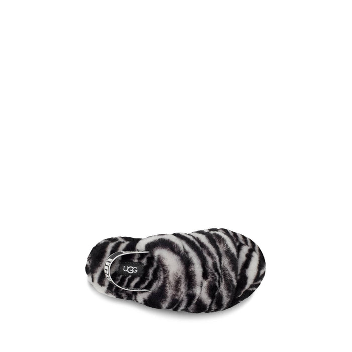 UGG Big Kids Fluff Yeah Slide Zebra shoes Ugg 194715125186