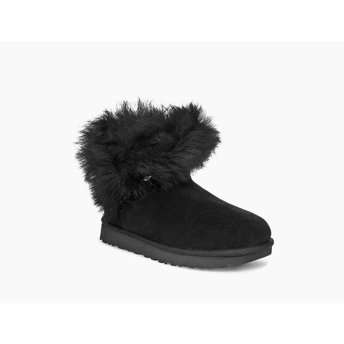 UGG Women's Classic Fluff Pin Mini Boot womens Ugg